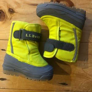 LLBean toddler boots